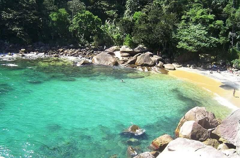 Praia do Caxadaço no Rio de Janeiro