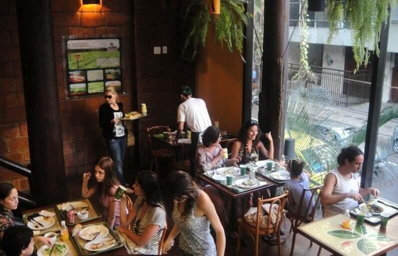 Restaurante Delírio Tropical no Rio de Janeiro