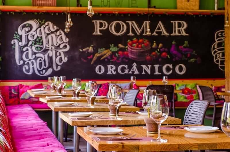 Restaurante Pomar Orgânico no Rio de Janeiro