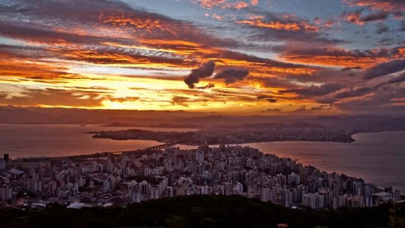 Roteiro de 4 dias em Florianópolis: Mirante do Morro da Cruz