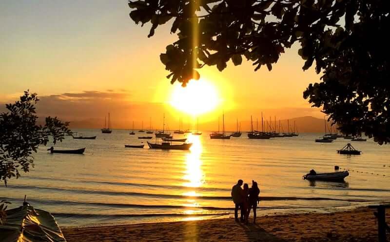 Roteiro de 4 dias em Florianópolis: Pôr do Sol em Santo Antônio de Lisboa