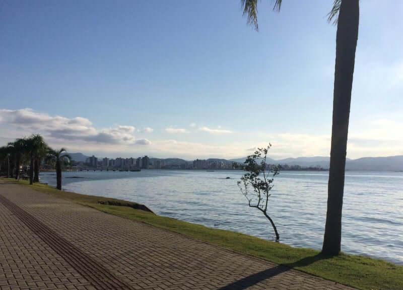Roteiro de 4 dias em Florianópolis: orla da Beira-Mar Norte