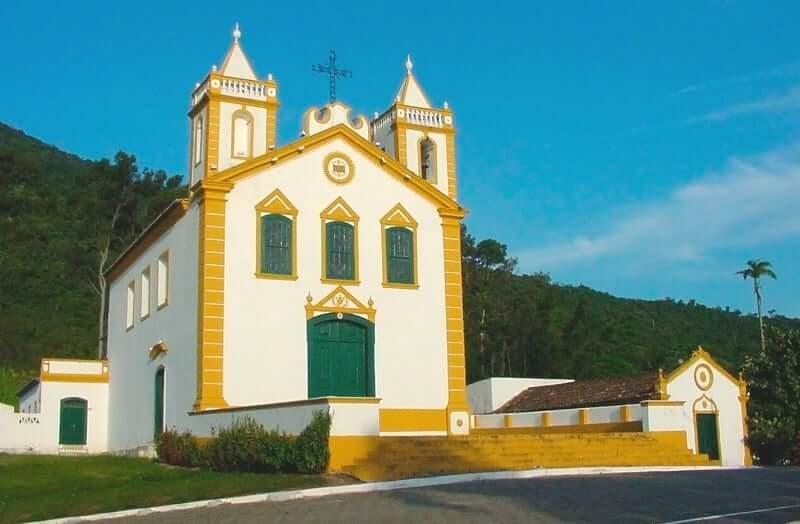 Mapa Turístico de Florianópolis: Igreja de Nossa Senhora da Lapa - Ribeirão da Ilha