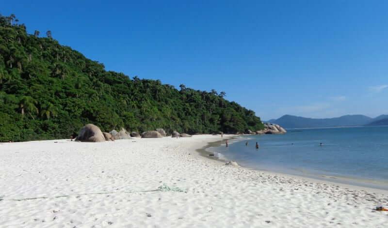 Mapa Turístico de Florianópolis: Ilha do Campeche