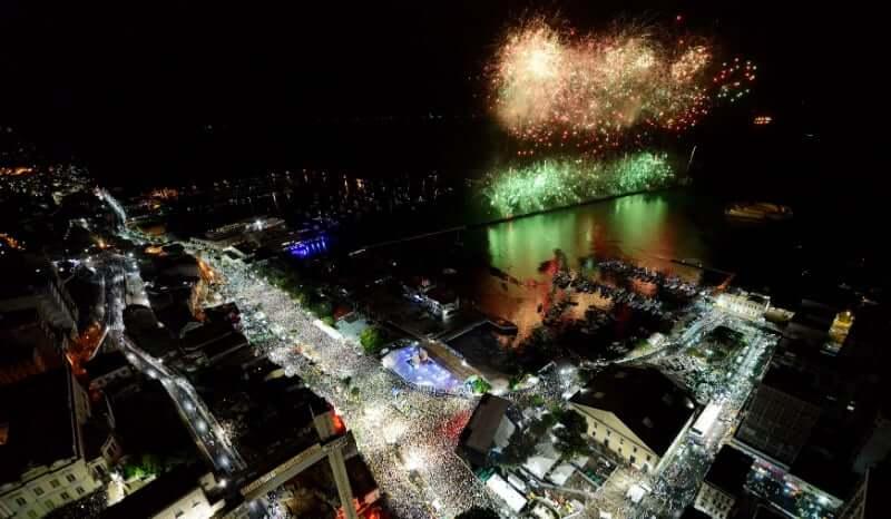 Ano Novo em Salvador: Show de Fogos