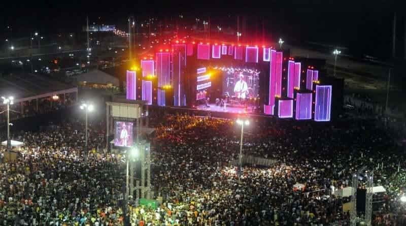 Ano Novo em Salvador: Festival da Virada