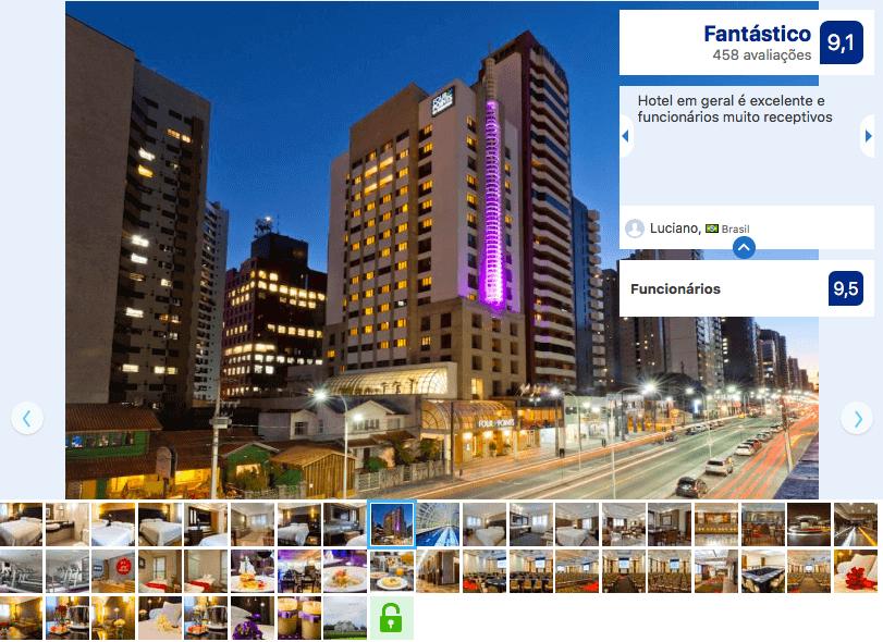 Hotéis no Centro Turístico de Curitiba: Four Points