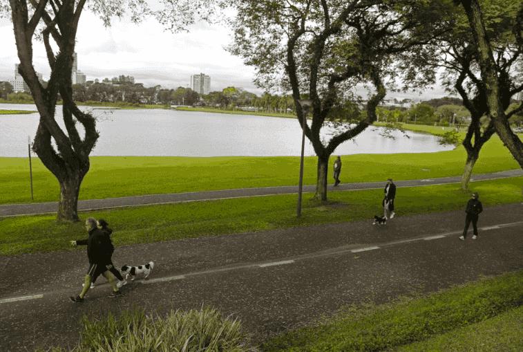 Parque Barigui em Curitiba