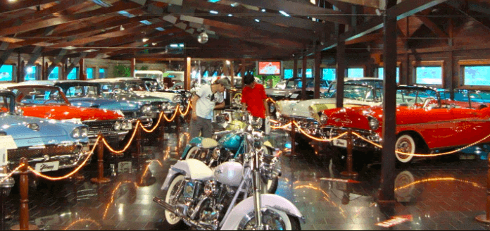 Parque Barigui em Curitiba: Museu do Automóvel