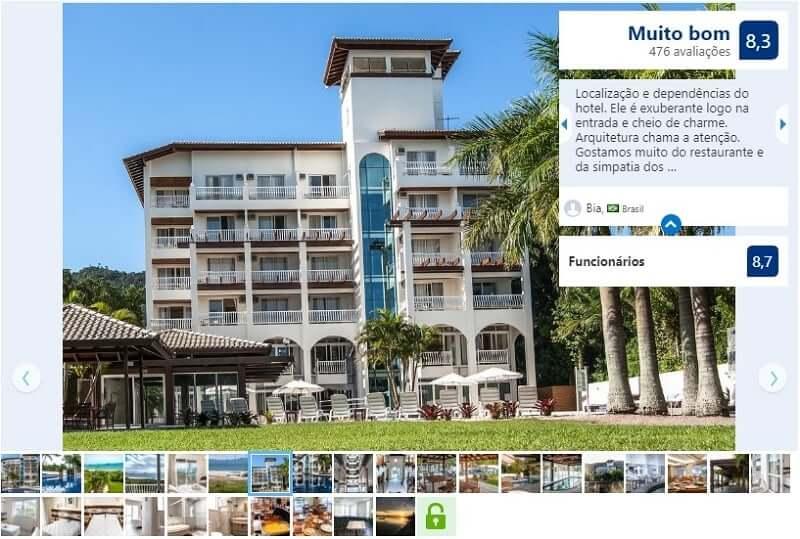 Dicas de hotéis em Florianópolis: Avaliação do Hotel Torres da Cachoeira