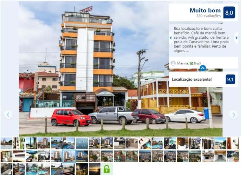Dicas de hotéis em Florianópolis: Avaliação do Hotel Vila Mar