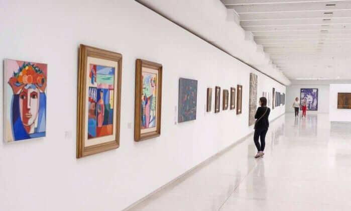 Museu Oscar Niemeyer: Exposição