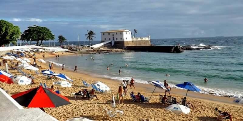 Lua de mel em Salvador: Praia do Porto da Barra