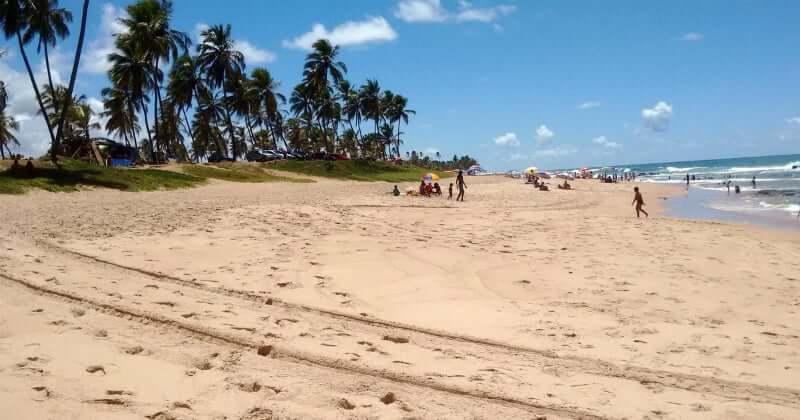 Mapa turístico de Salvador: Praia de Stella Maris