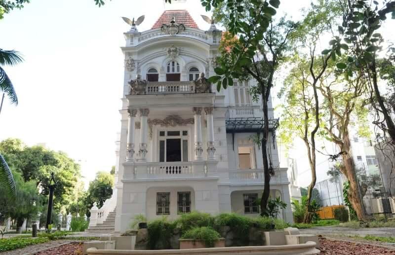 Museus em Salvador: Fachada do Palacete das Artes