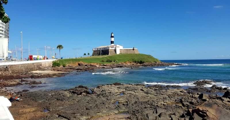 Praia do Farol da Barra em Salvador: Farol da Barra