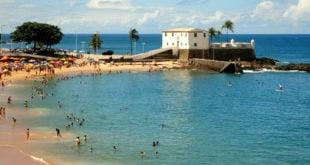 Praia do Porto da Barra em Salvador: