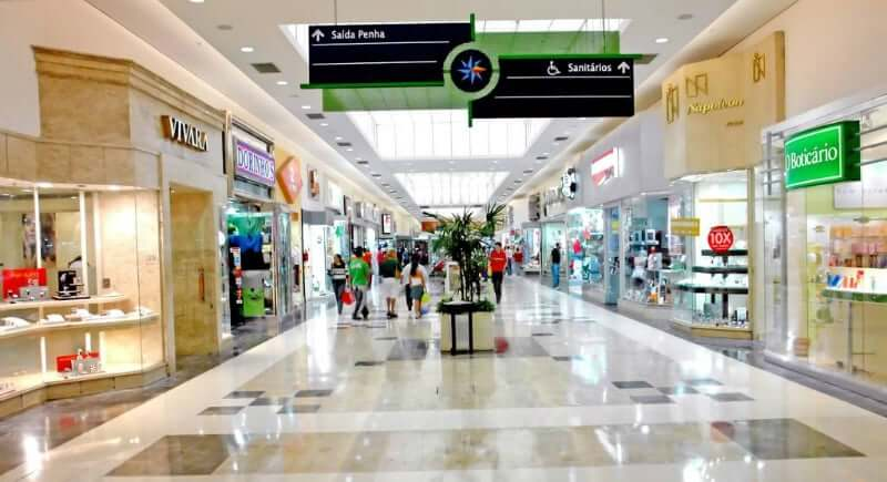 c770846da1 Shoppings em Salvador  Interior do Shopping da Bahia