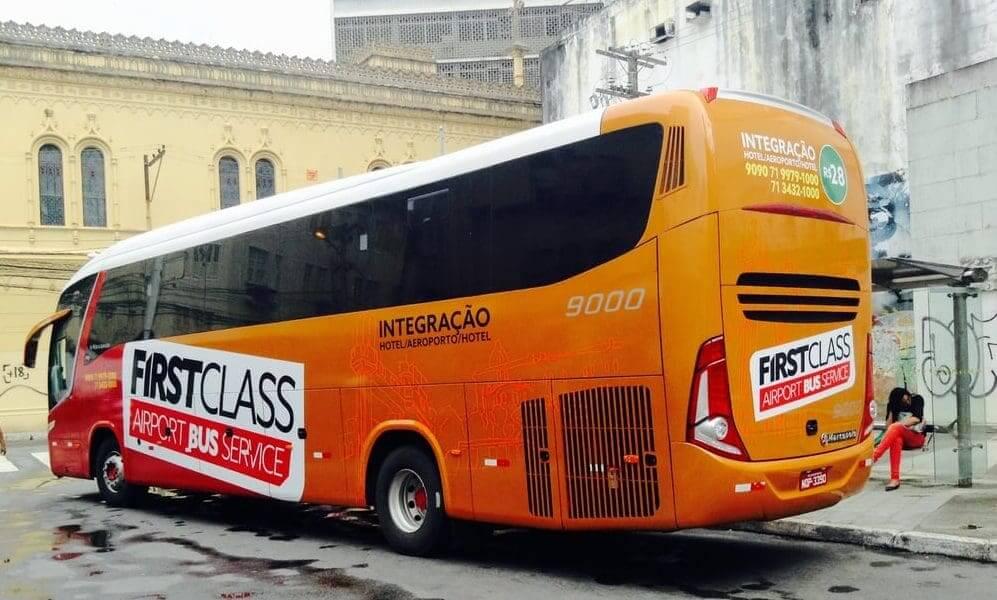 Como ir do aeroporto de Salvador até o centro turístico: First Class Bus - Integração Hotel e Aeroporto