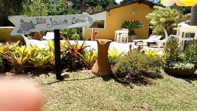 Pousada Sítio Jardim Secreto em Teresópolis