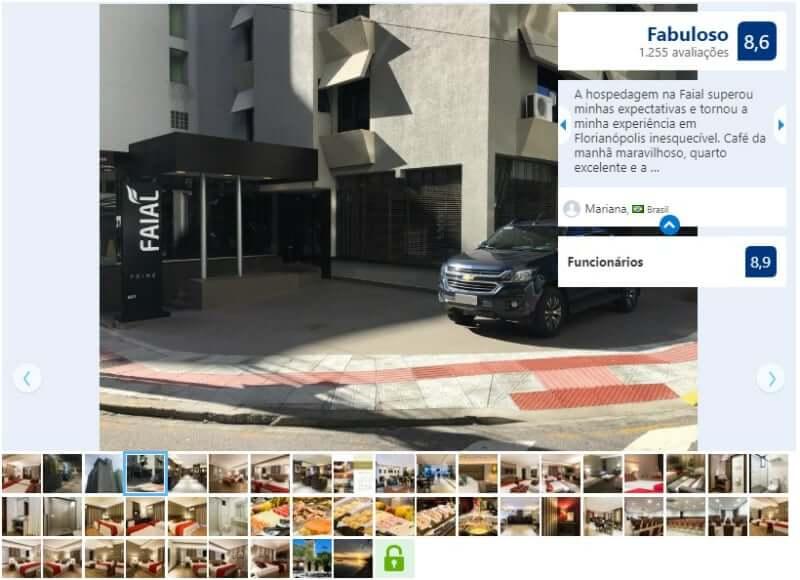 Melhores hotéis em Florianópolis: Avaliação do Faial Prime Suítes