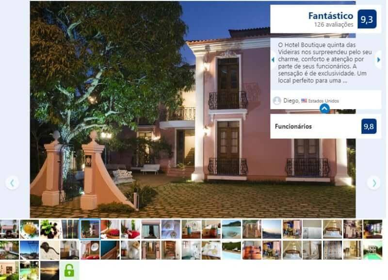 Melhores hotéis em Florianópolis: Avaliação do Hotel Boutique Quinta das Videiras