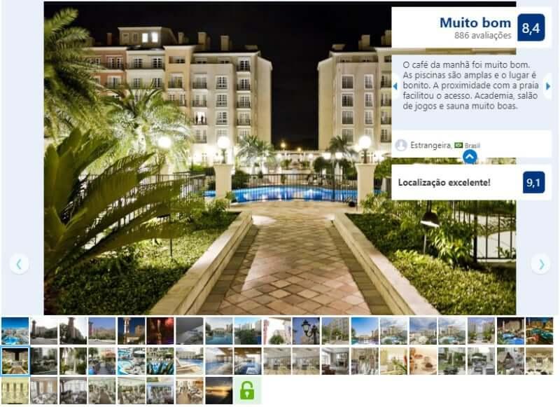 Melhores hotéis em Florianópolis: Avaliação do Il Campanário Villagio Resort