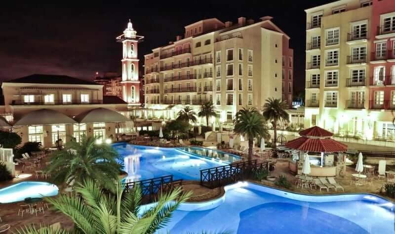 Melhores hotéis em Florianópolis: Piscinas do Il Campanário Villagio Resort