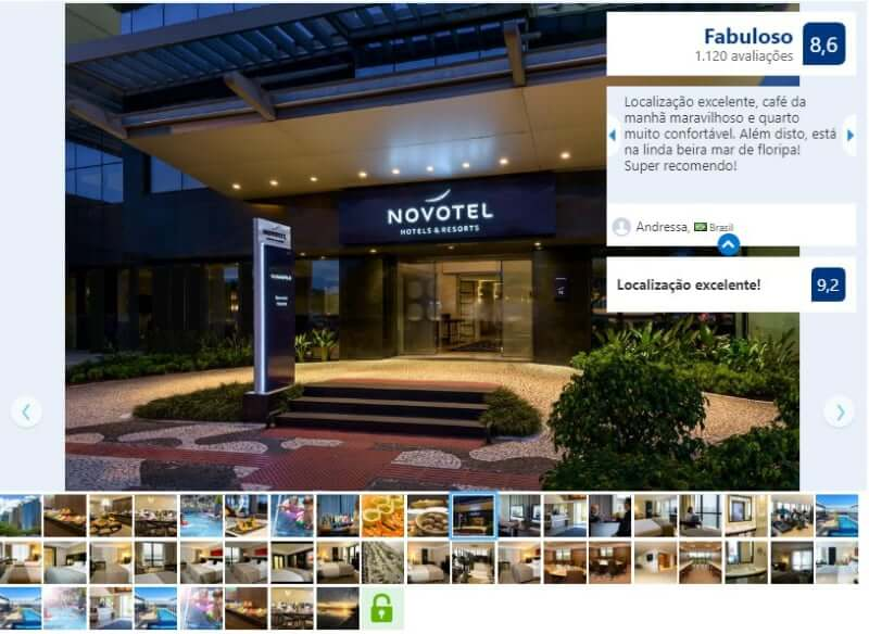 Melhores hotéis em Florianópolis: Avaliação do Novotel Florianópolis