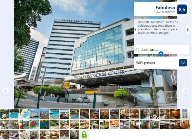 Melhores hotéis em Salvador: Avaliação do Fiesta Bahia Hotel