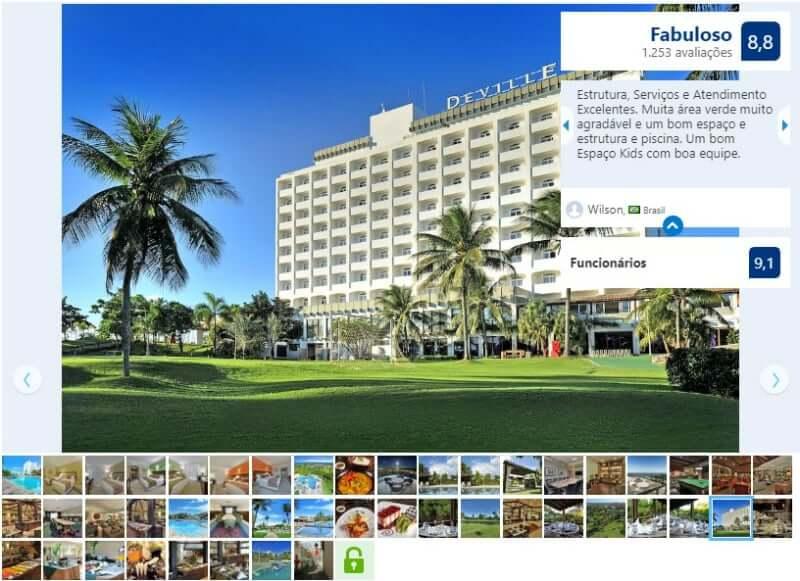 Melhores hotéis em Salvador: Avaliação do Hotel Deville Prime Salvador