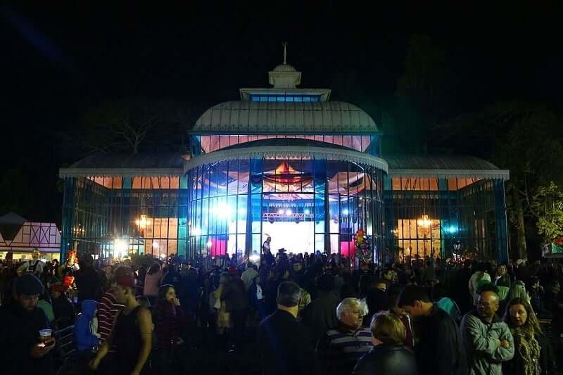 Palácio Cristal Bauernfest em Petrópolis