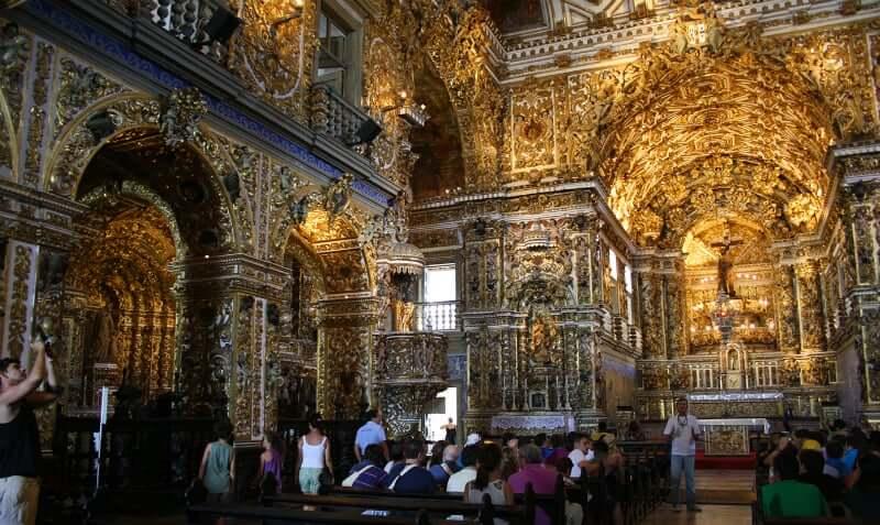 Roteiro de 1 dia em Salvador: Igreja de São Francisco