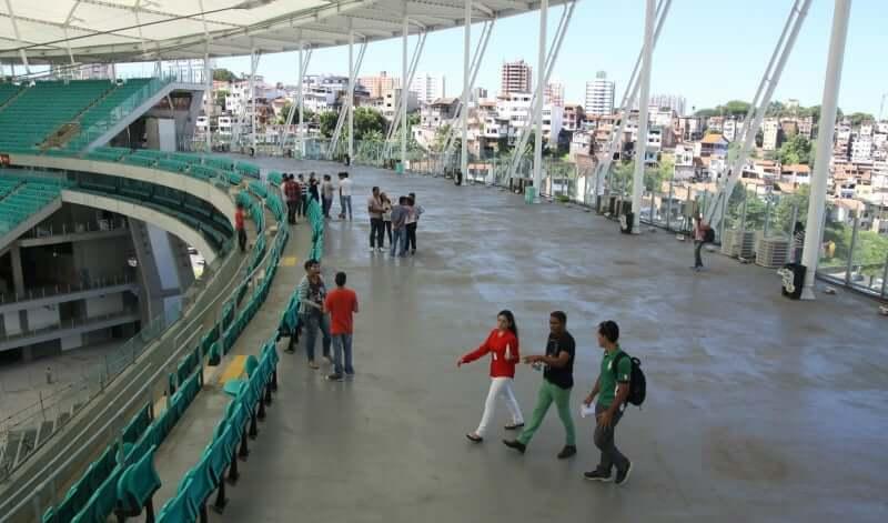 Arena Fonte Nova em Salvador: Mirante
