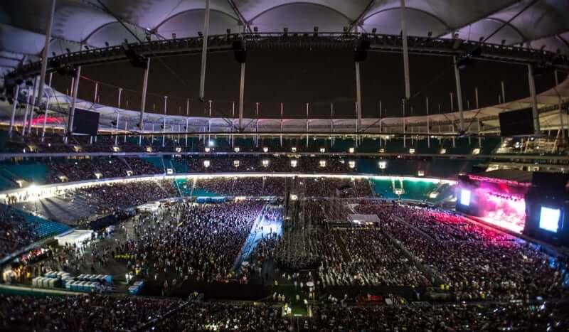 Arena Fonte Nova em Salvador: Show do Elton John na Arena