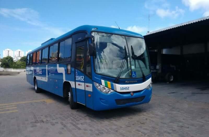 Arena Fonte Nova em Salvador: Ônibus