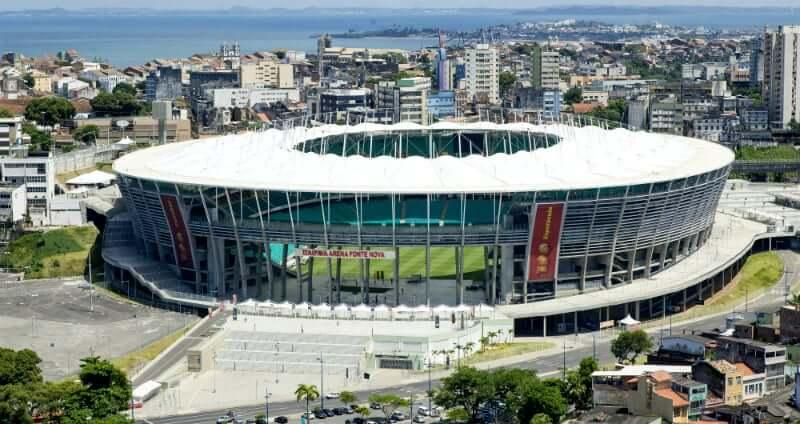 Arena Fonte Nova em Salvador: Arena Fonte Nova