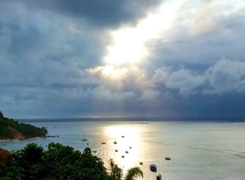 Clima e temperatura em Salvador: Sol após a chuva