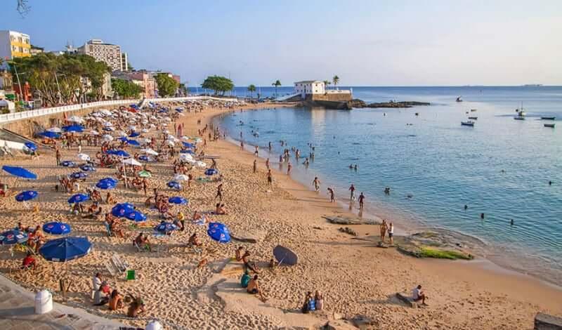 Clima e temperatura em Salvador: Praia do Porto da Barra