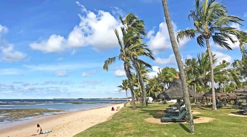Clima e temperatura em Salvador: Ventos na Praia do Forte