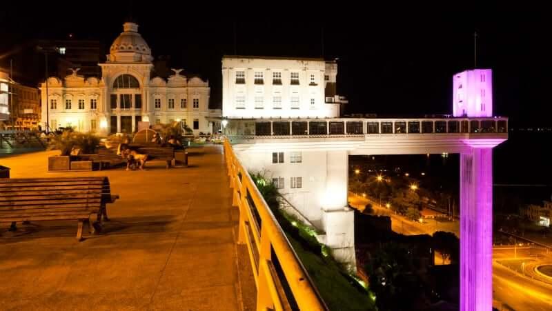 Elevador Lacerda em Salvador: Localidade do Elevador Lacerda
