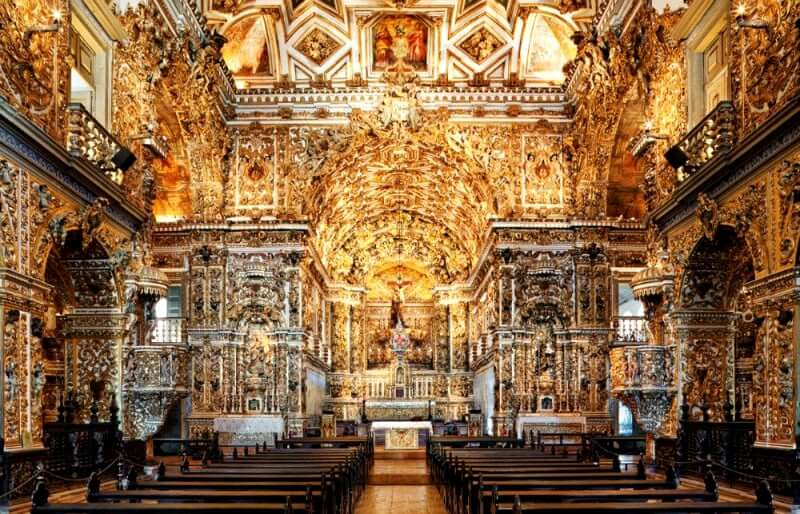 Elevador Lacerda em Salvador: Igreja e Convento de São Francisco
