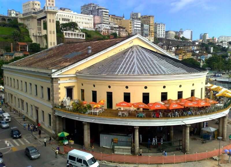 Elevador Lacerda em Salvador: Mercado Modelo