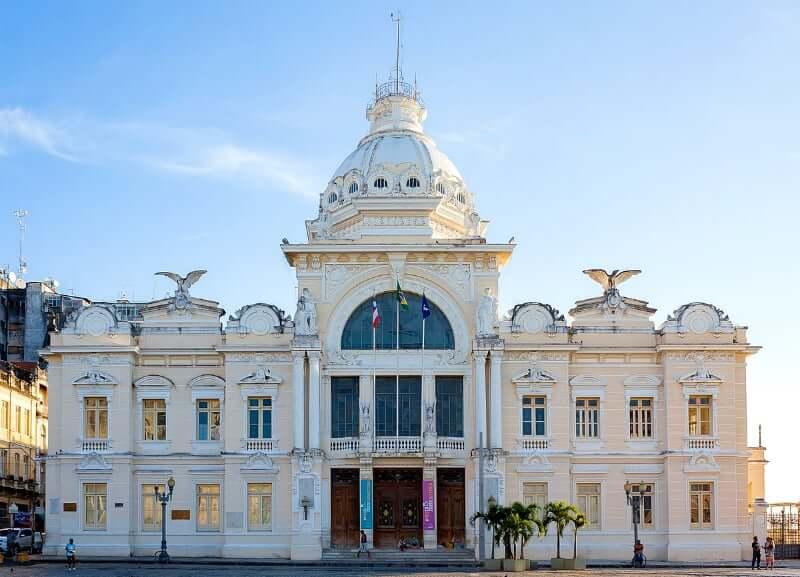 Elevador Lacerda em Salvador: Palácio Rio Branco
