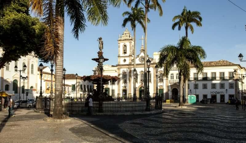 Elevador Lacerda em Salvador: Largo Terreiro de Jesus