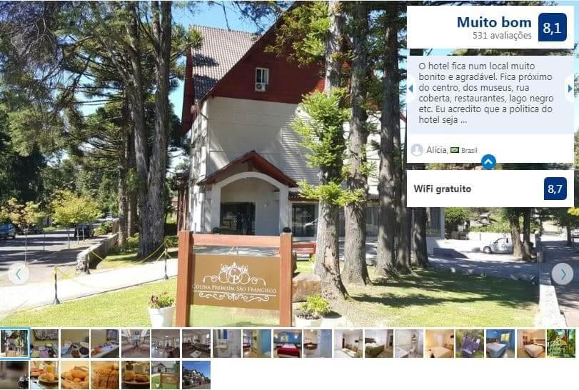 Dicas de hotéis em Gramado: Colina Premium São Francisco