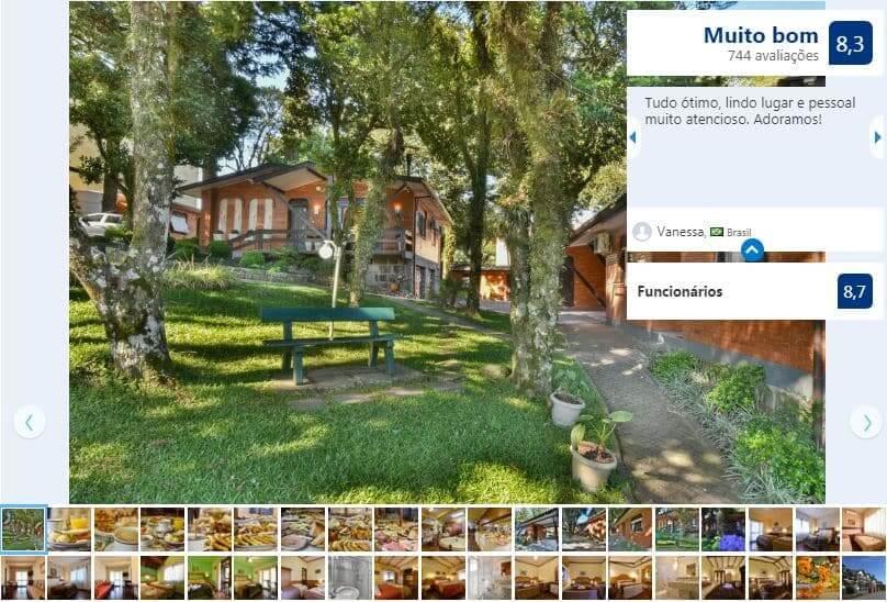 Dicas de hotéis em Gramado: Hotel Pequeno Bosque