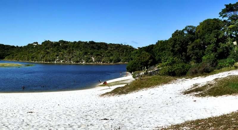 Praia de Jaguaribe em Salvador: Lagoa do Abaeté
