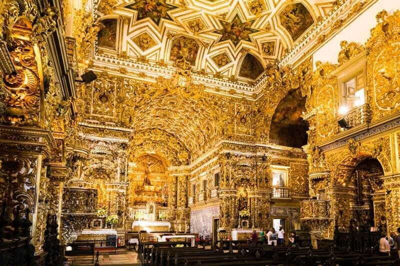 O que fazer no Pelourinho em Salvador: Igreja de São Francisco