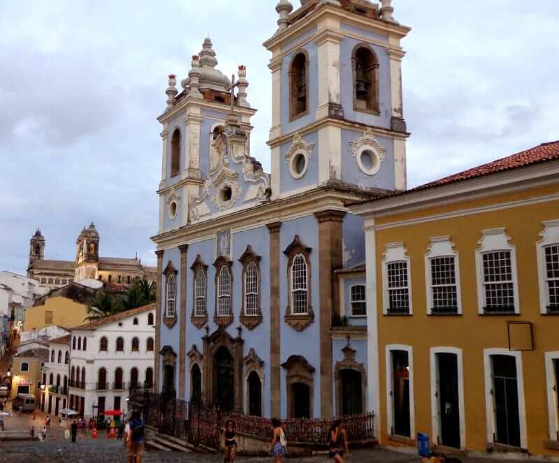 O que fazer no Pelourinho em Salvador: Igreja N.S. do Rosário dos Pretos